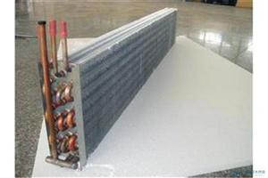 冷干机用铜管铝翅片蒸发器冷凝器
