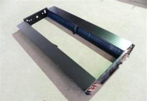 优质高效5mm铜或铝翅片式蒸发器冷凝器