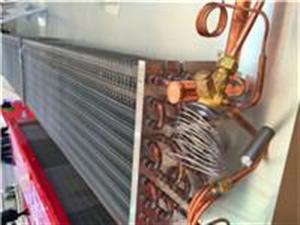 铝翅片冷排冰柜冷凝器蒸发器铜管回路散热器制冷系统