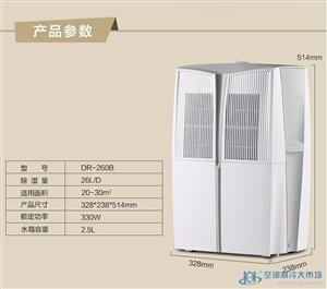 DR260B除湿机家用静音抽湿器空气净化抽湿机吸湿器