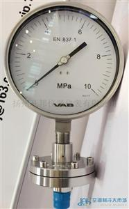 VAB隔膜压力表系列