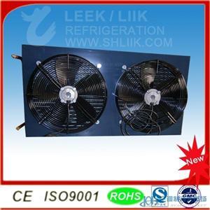 高效好质量铜管铝片式列管式制冷换热器冷凝器