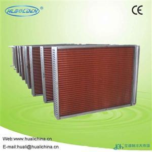 5排管铜管铝翅片蒸发器厂家