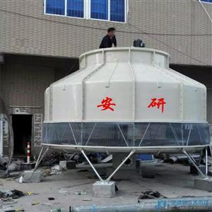 福建高温冷却塔厂家—200T高温圆型冷却塔