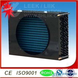 小型 风冷 V型 蒸发器换热器冷凝器