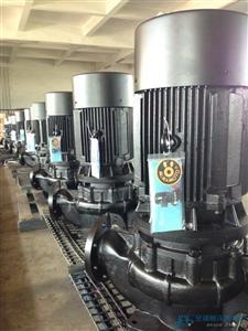源立二代超静音立式管道空调泵GDX100-19-7.5KW