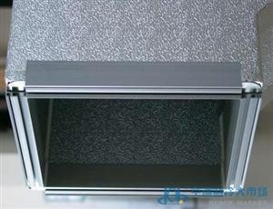 辽宁单面彩钢铝箔酚醛复合风管