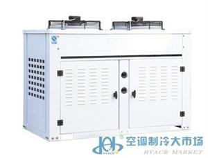 FNP半封闭箱式风冷冷凝器