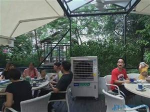 生态园岗位送风水冷机   餐饮业专用移动式水空调