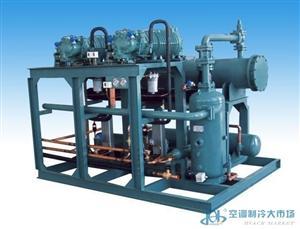 (压缩机可选择)PLC全自动控制水冷并联螺杆机组