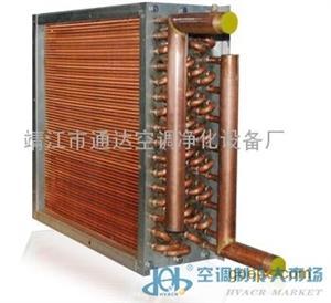铜管铜片表冷器加热器