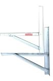 1-2匹镀锌焊接支架(环保白锌)