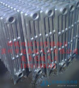 橢四柱760型铸铁暖气片