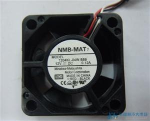 NMB变频器风扇1204KL-04W-B59 3010 12V