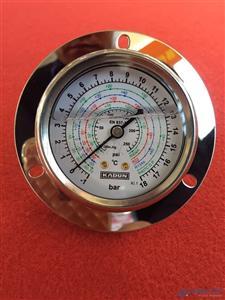 德国卡顿环保型高精度不锈钢耐震冷媒压力表