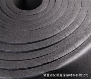 防水隔热橡塑保温板 B2级橡塑海绵保温板 太阳城线上娱乐官网橡塑保温