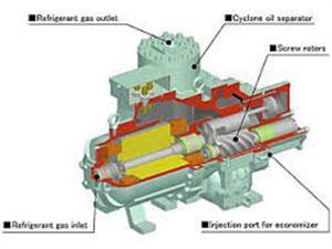 40ASC-H(Z)日立空调压缩机