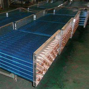 品牌翅片式铜管空调换热器蒸发器