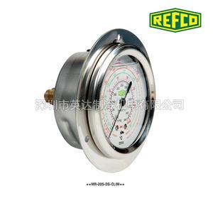 瑞士REFCO威科油压表冷媒压力表