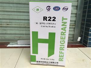 临海利民化工自主品牌利化R22  净重13.6KG