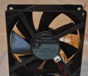 松下 9025 FBA09A24H 24V 超静音变频器散热风扇9CM