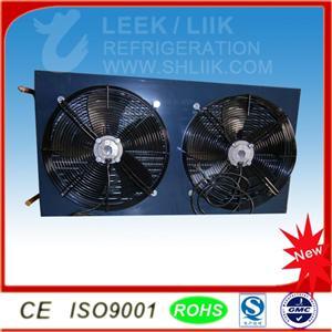平板式制冷机组风冷冷凝器