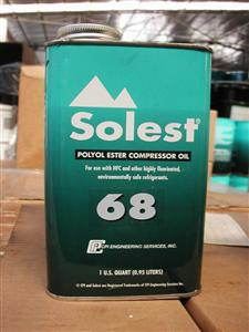原装正品SOlest68冷冻机油