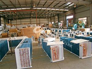 工业空调换热器表冷器蒸发器翅片