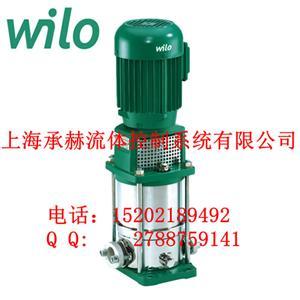 进口水泵威乐多级离心泵MVI203空调循环泵0.55kw