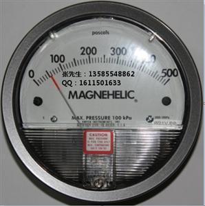 2000-500PA指针微差压表用于洁净空调过滤网压差的检测