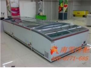 广西超市冷柜、制冷冰台、饺子岛柜、冷冻肉品柜报价