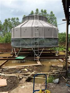 河源冶炼设备降温冷却水塔风度500T冷却塔