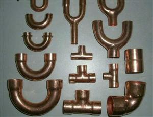 紫铜弯头,三通,直通,U型弯
