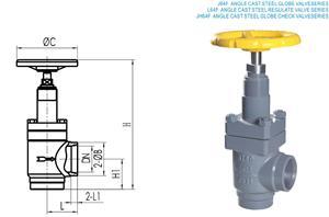 利永达J64F直通铸钢截止阀系列产品