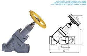 利永达J65F直流铸钢截止阀系列产品