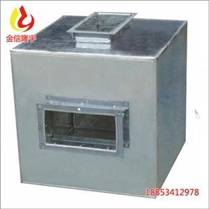 隆宇消声器静压箱风管消音箱管道静压箱风管排烟静压箱