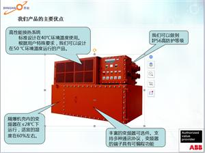 油气混输泵用防爆变频器