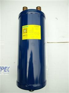 冷库空调制冷机组汽回气分离器气液分离器208/28mm接口