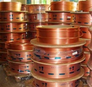 龙煜铜管(m) Φ6.35×0.8紫铜管 四川成都批发空调铜管