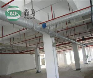 地铁不锈钢圆形通风管道/商品房不锈钢圆形通风管工厂