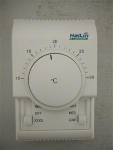 海林HL108FCV2四管制背光空调控制面板开关HL108DA2-L