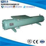 高效管壳式水冷凝器 高品质水炮 水冷散热器 8HP冷凝器