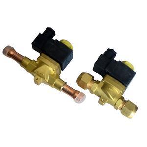 制冷机组设备电磁阀 制冷配件 膜片式空调制冷冷媒电磁