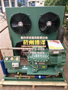 5P风冷/水冷制冷机组设备/冷库室外压缩机全套//配外转