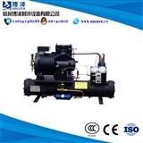 -18度52立方8HP水冷小型冷库全套设备制冷机组大家电配