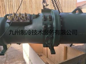 天津比泽尔CSH9553-180螺杆式压缩机进水维修