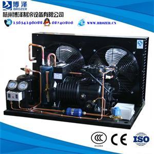 博泽谷轮半封闭制冷机组3HP5HP15HP20HP冷库制冷压缩机