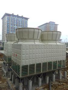 方型逆流低噪音冷却塔