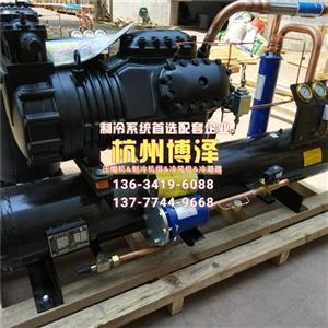 广东15匹压缩机,8匹压缩机,5匹壳管式水冷凝器