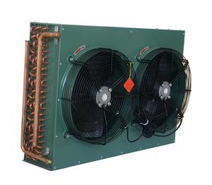 制冷机组 双风扇冷凝器带电机 FNH-9.6/33 制冷配件